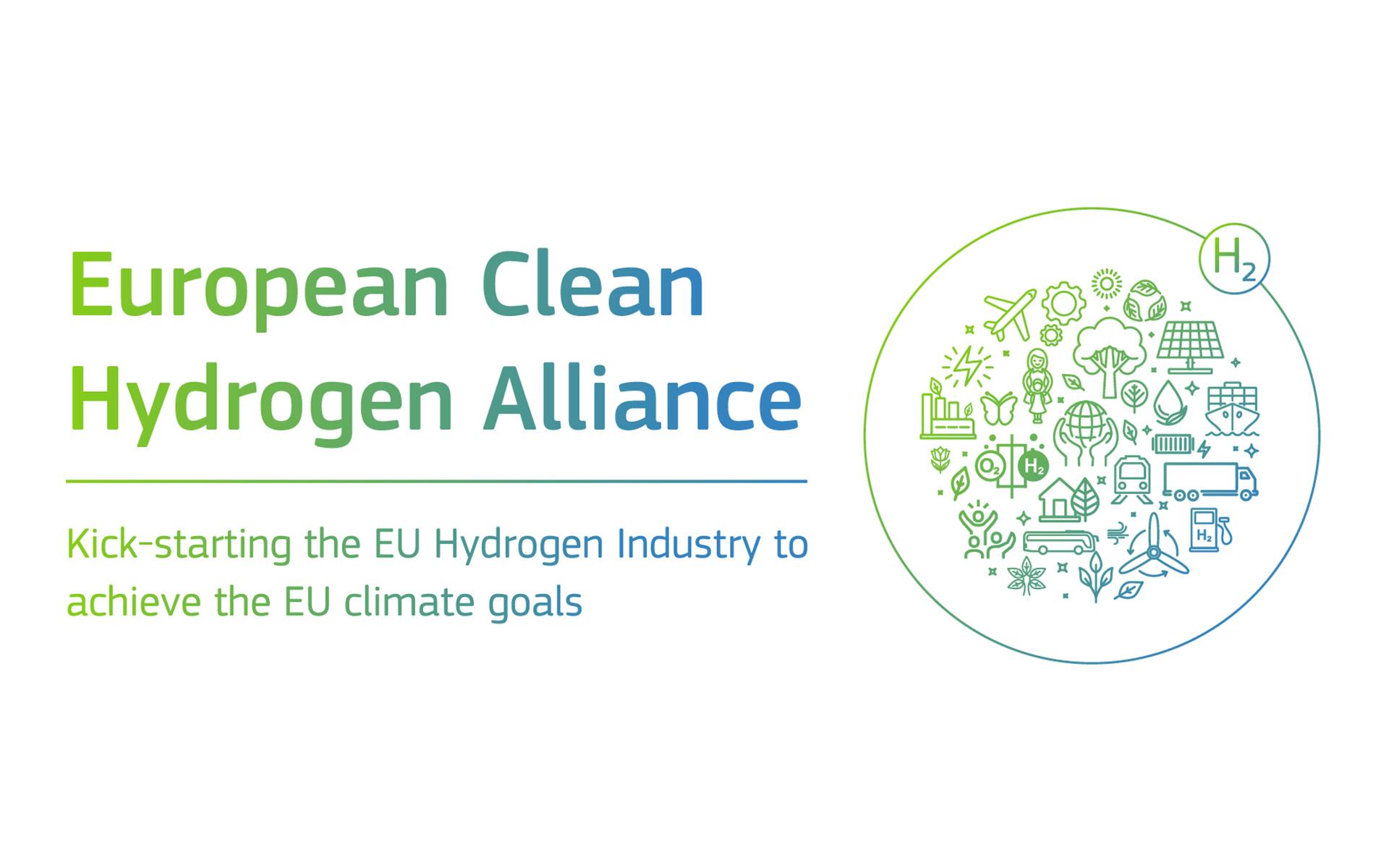 Logo de l'Alliance Européenne pour l'Hydrogène Propre