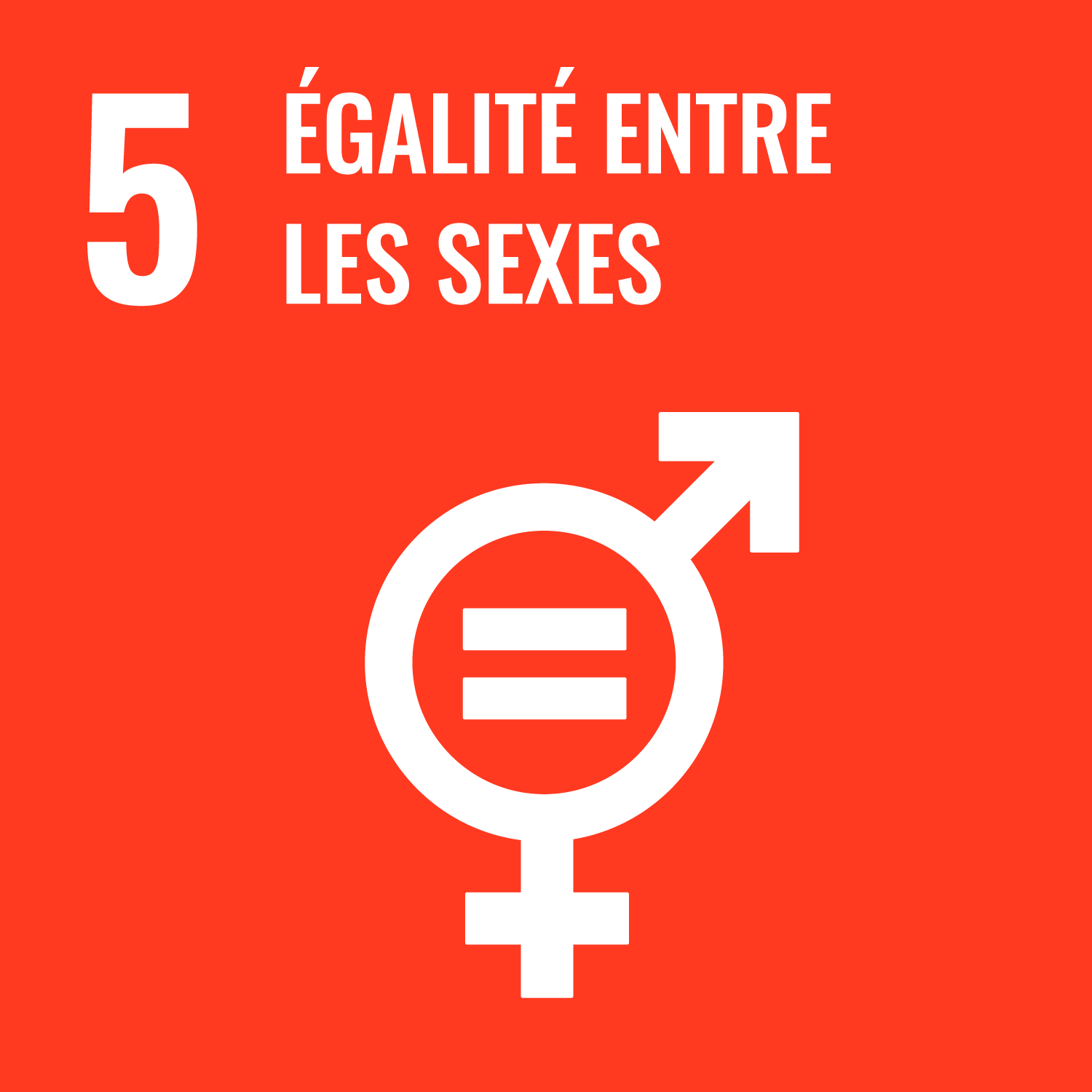 Icône représentant les deux symboles de genre et un égale au centre