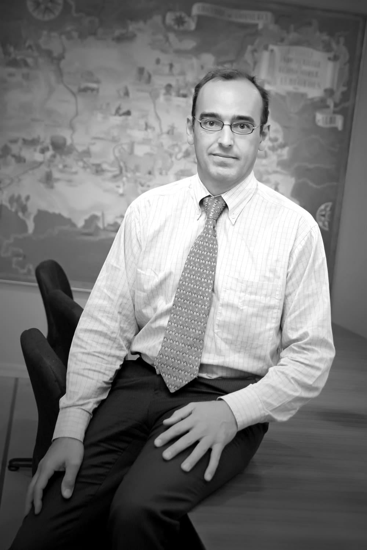 Photo portrait de Vincent Lemaire, président du Groupe SAFRA
