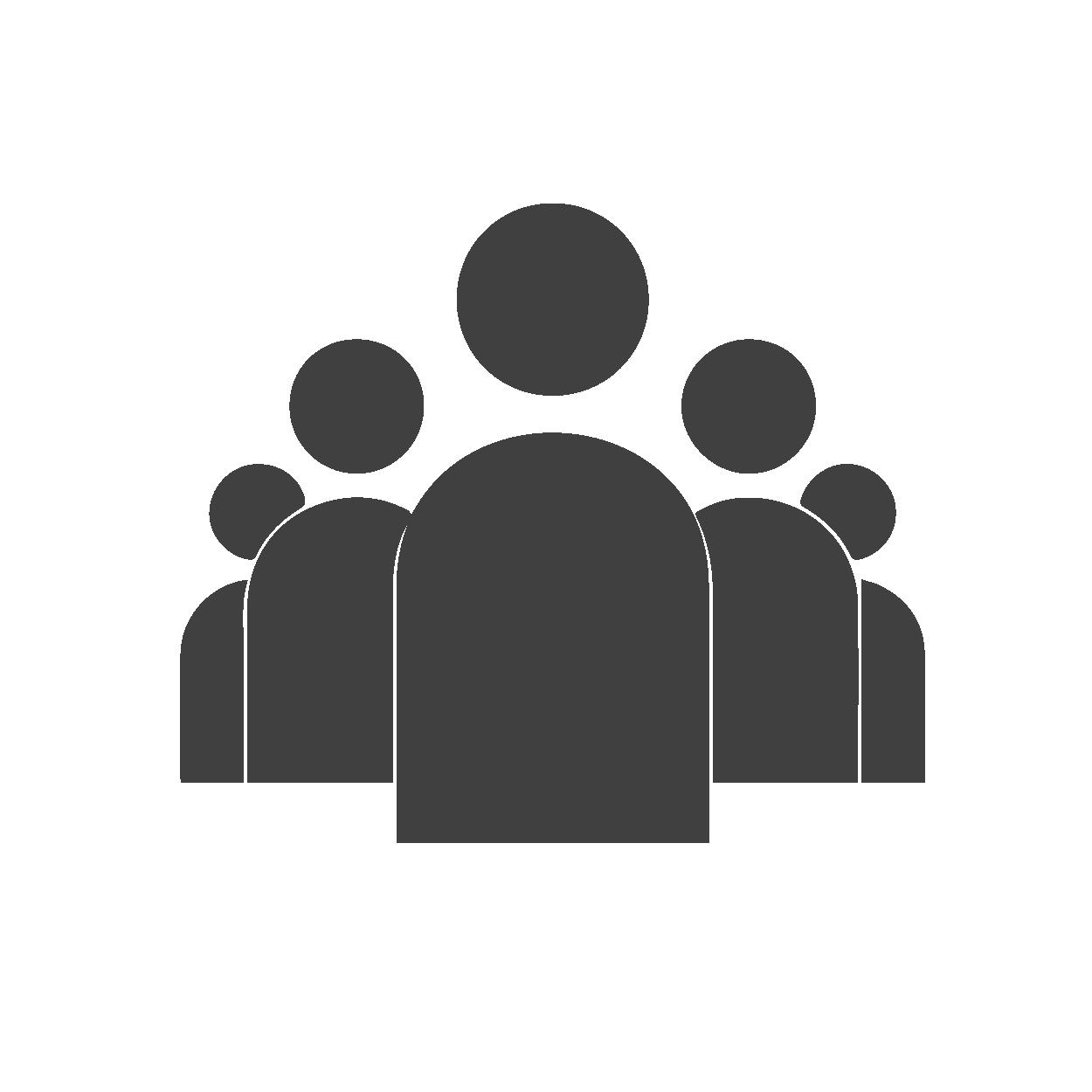 Icone représentant un groupe d'individu
