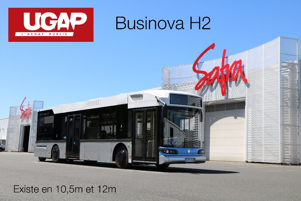 Businova H2 éligible à l'UGAP