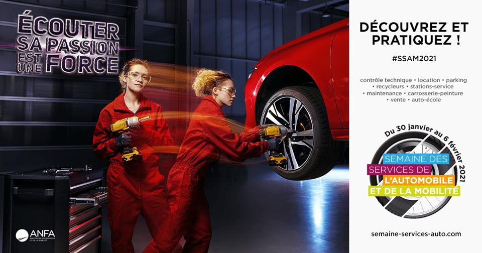 Semaine des métiers de l'automobile et de la mobilité – 2021