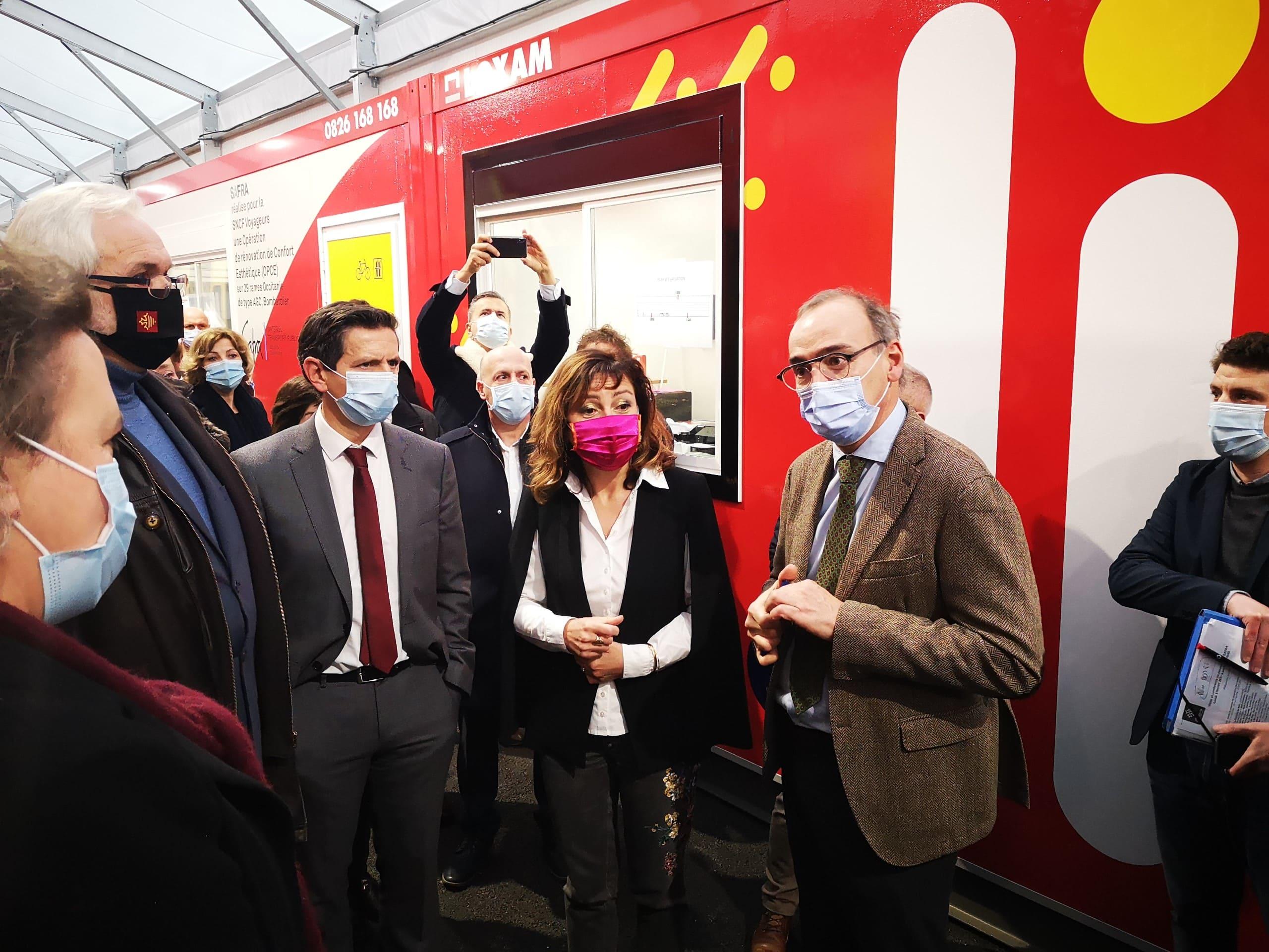 Visite de la Région et de la SNCF